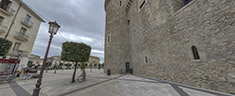 Immagine del virtual tour 'Castello Caetani di Fondi'